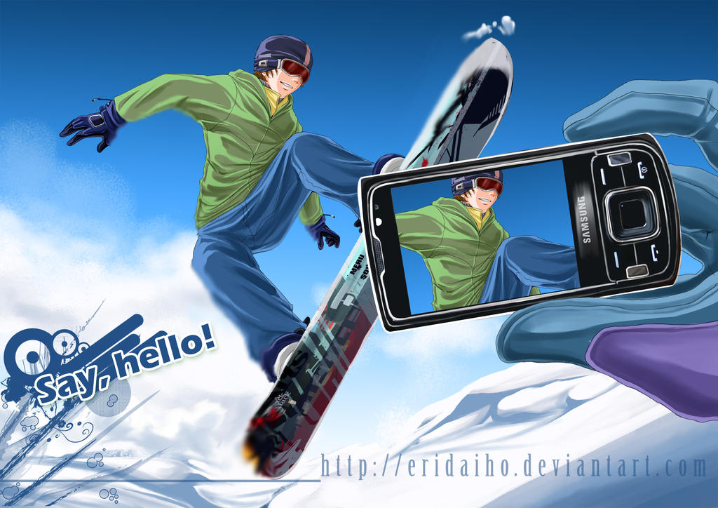 Snowboarding - contest by EriDaiho