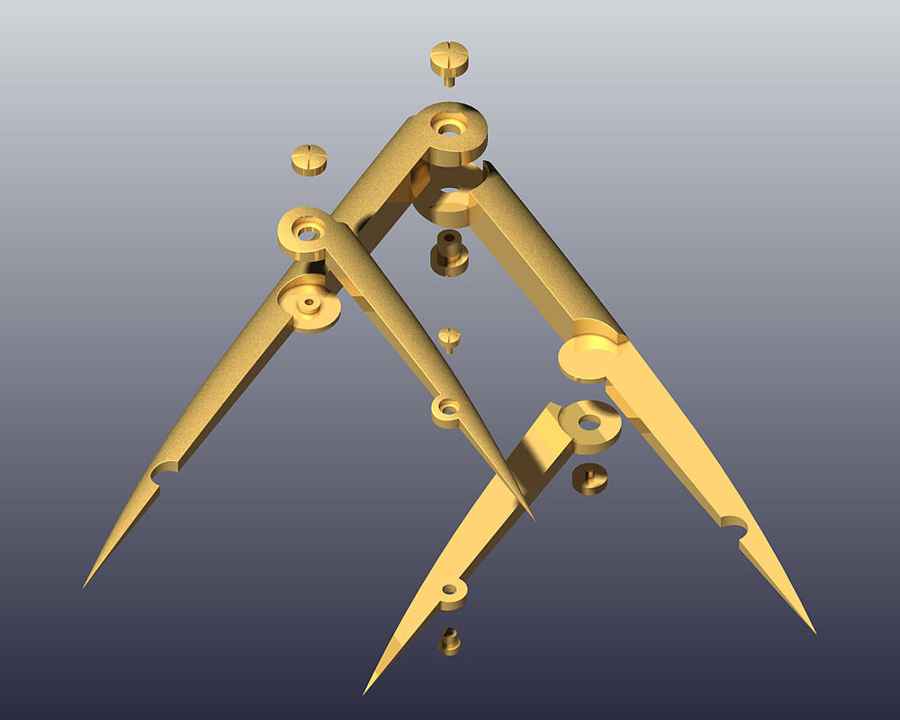 Golden Ratio calipers - v.1-1 by urCan