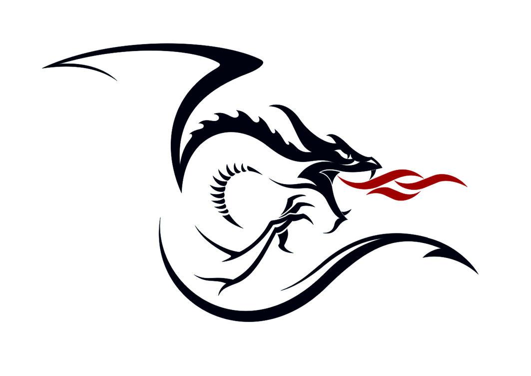 Simple Asian Dragon | Dragon Stencil designs | Pinterest ...