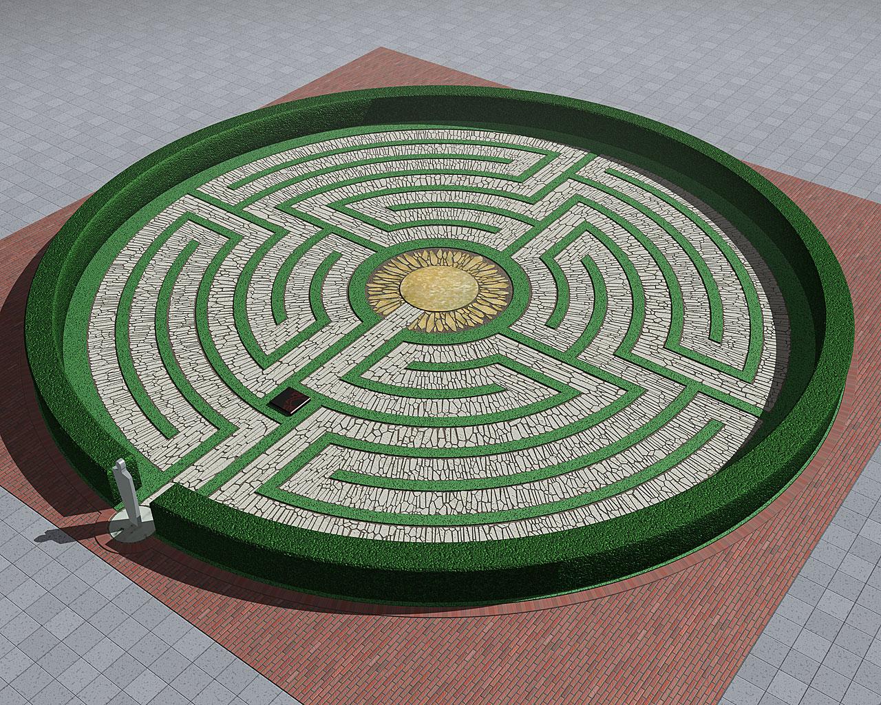 Labyrinth Garden By Urcan On Deviantart