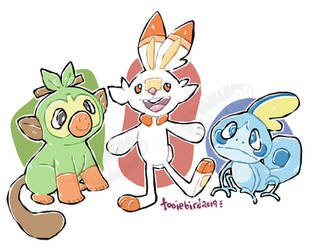 New Starters! by tooiebird