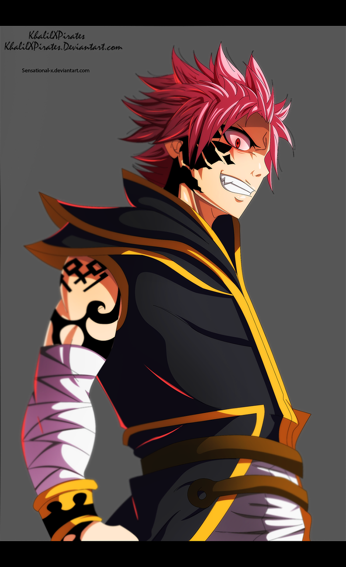 Etherious Natsu Color by Sensational-X