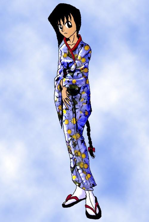 Kimono Girl by MasterJazzman
