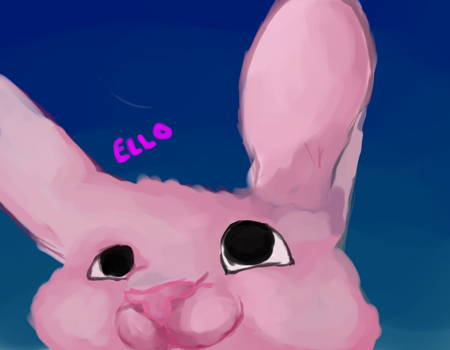 Pink Bunny by thundertigerchm