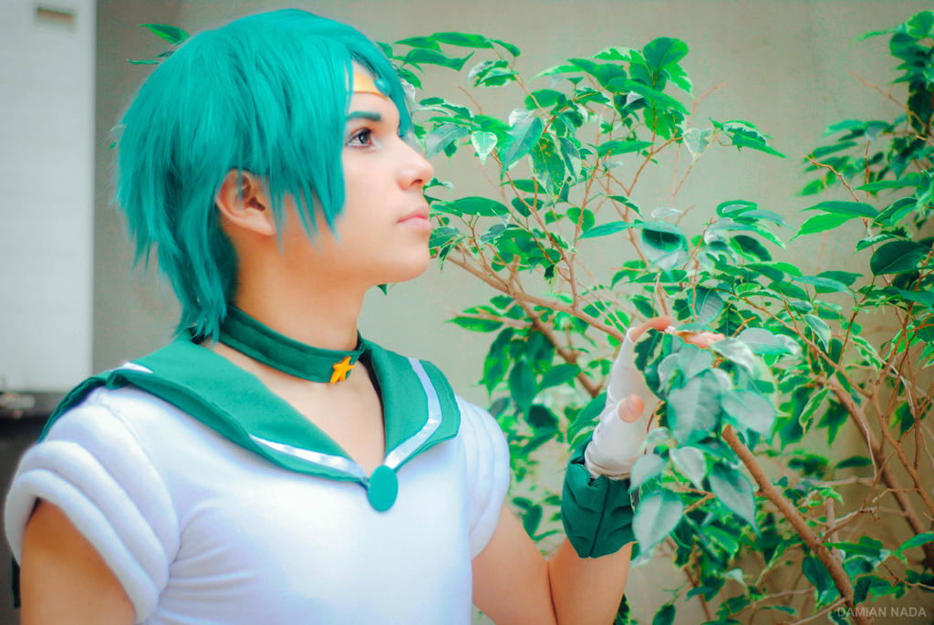 Sailor Neptune Male Version by DamianNada