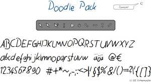 Doodle Font+Cursors