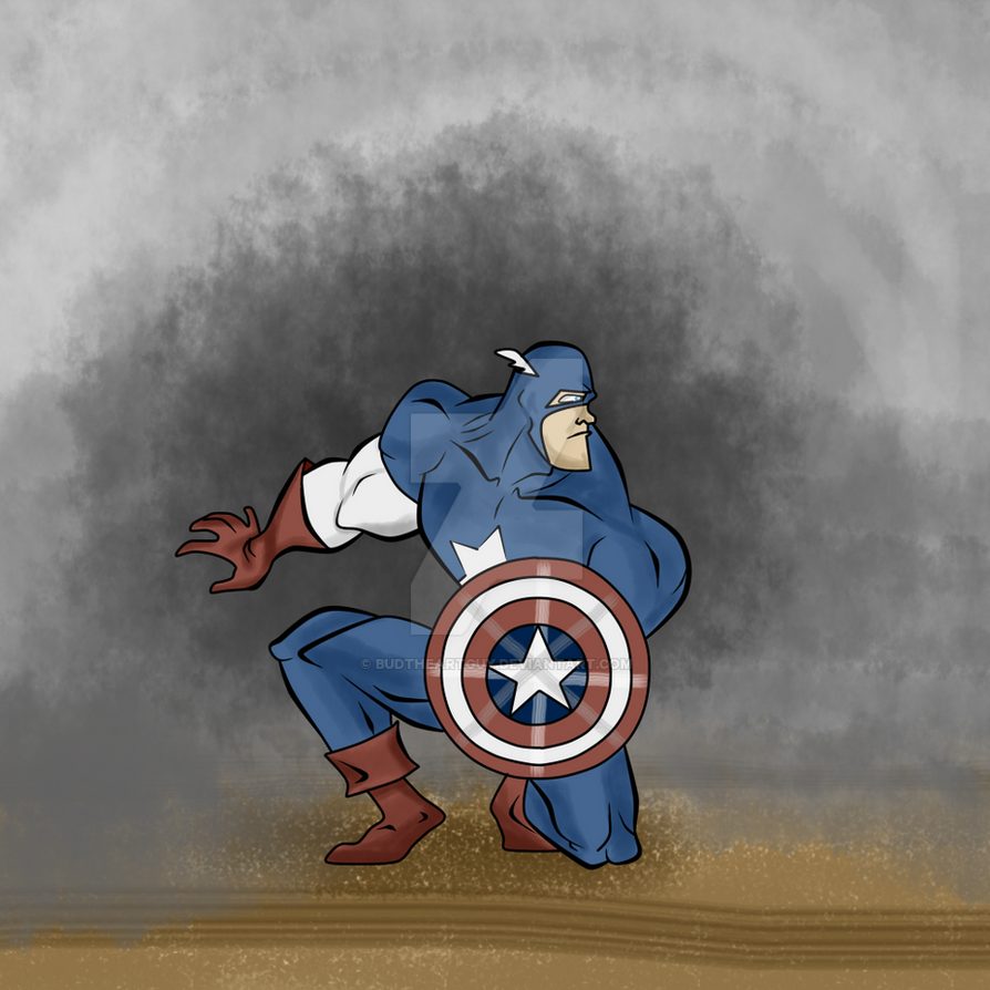 Avengers - Captain America by Ask-Bud