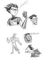 Robin and The Joker by BudTheArtGuy
