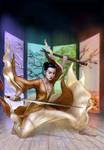 Commission: 'Shangri-La' - book cover