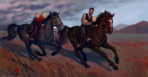 Commission: Horses