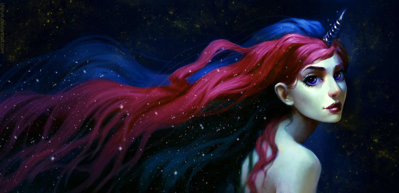 Princess Celestia by chirun