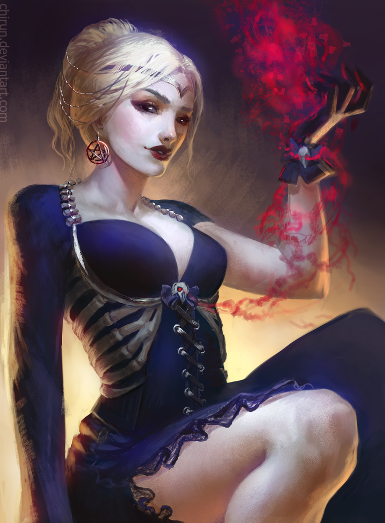 Bone Maiden by chirun