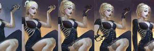 Bone Maiden - process by chirun