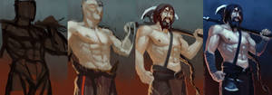 Axeman - process by chirun