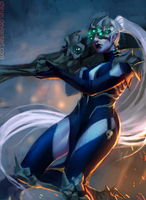 Widowmaker  Halloween (Overwatch) by chirun
