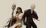 Iris and Deste by chirun