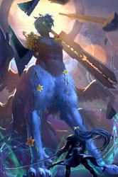 White Wolf of Nibelheim by chirun