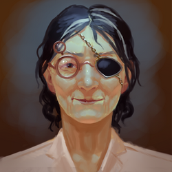 Old Lady by chirun