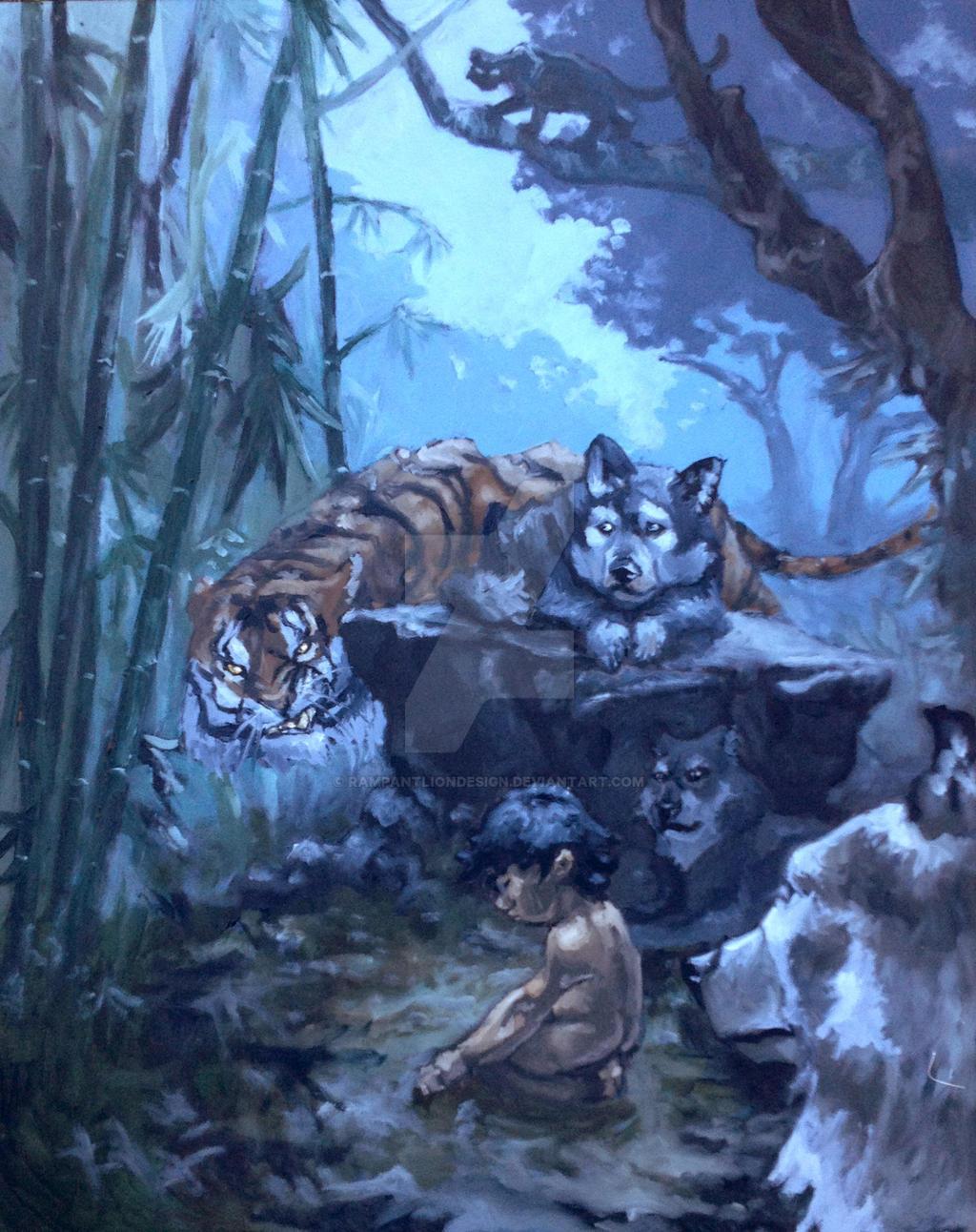 Mowgli presented to council rock