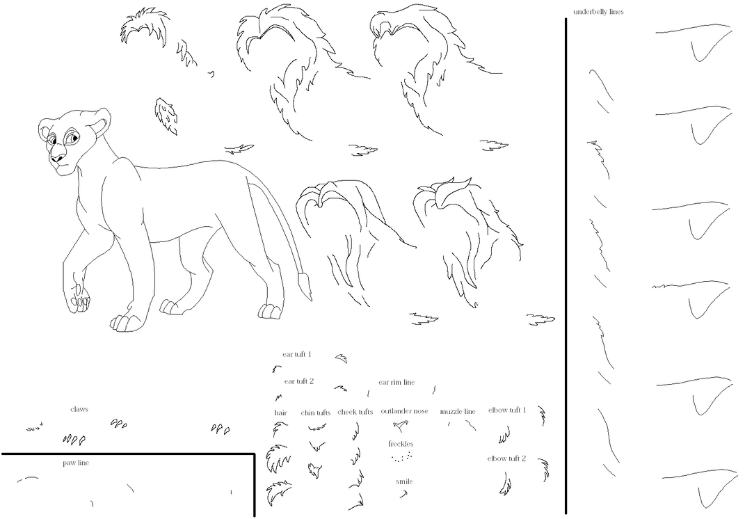 my Lion King character maker by earthwiccan on DeviantArt