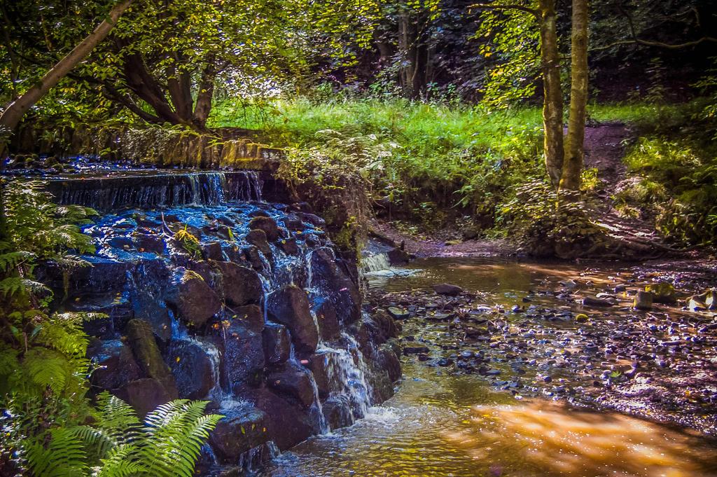 English Waterfall by DesignEnigma
