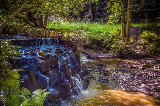 English Waterfall