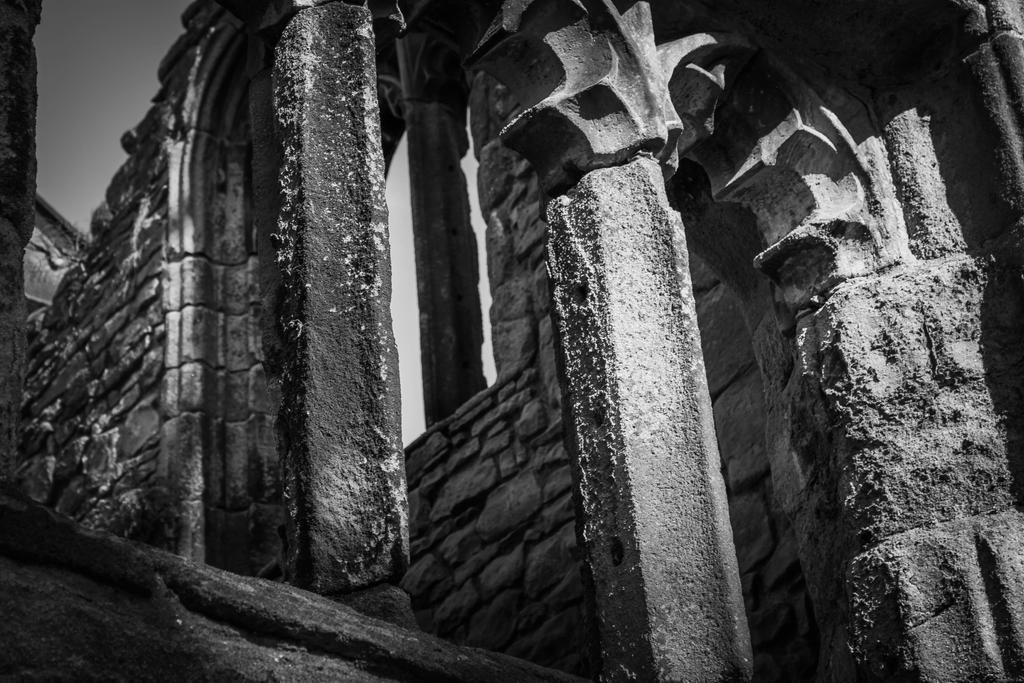 monastery ruins by DesignEnigma