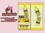jerk crayon bookmarks