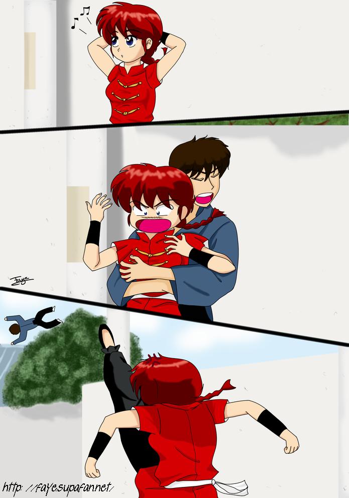 Ranma Chan And Kuno By Fayeuh