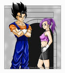 DBM : Vegeto and Bra