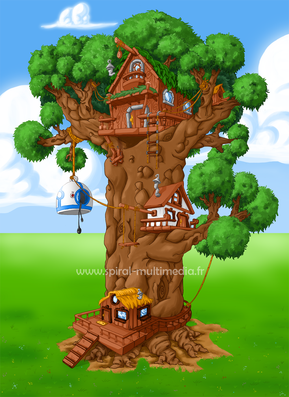 Spiral Multimedia : Arbre by Fayeuh
