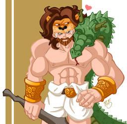 Hercules by Fayeuh