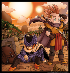 DBM chap 49: Cell Jr and Minosha by Fayeuh