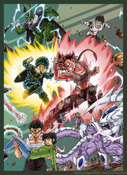 DBM Chap 66: Budokai Royale 3: Ultimate warriors by Fayeuh