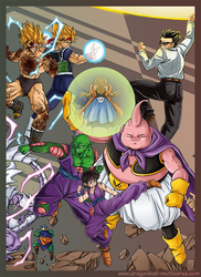 DBM Chap 68: Budokai Royale 4: Heroes' Fury by Fayeuh