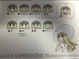 Lillie's Expressions Reference Sheet