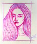 Colored Pencil Portrait- 7 (2019)