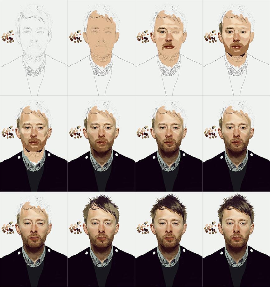 Thom Yorke portrait by IgorRAS