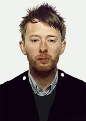 Thom Yorke portrait