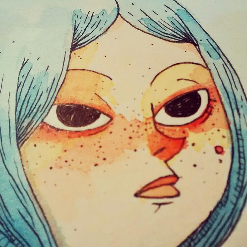 Blue girl by IgorRAS