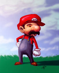 Super Mario by Alainprem