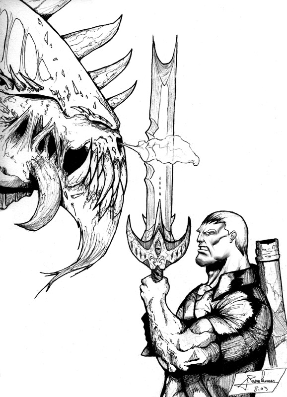 Grendel Beowulf Drawing Sketch Coloring Page Beowulf Coloring Pages