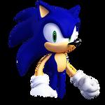 Yuji Uekawa Sonic in 3D