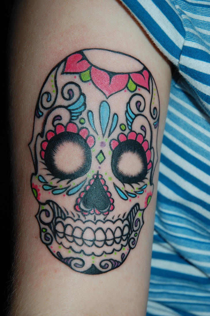 Sugar Skull by batty-boy