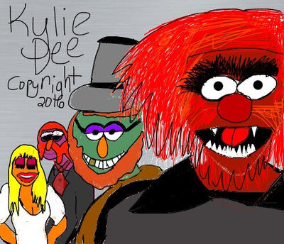 The Electric Mayhem As The Dracula Cast by JaniceIsMyMommy