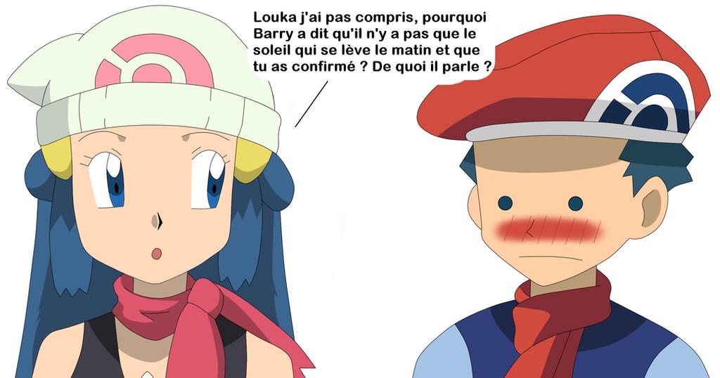 La question qui tue d 39 aurore by elothedreamgirl on deviantart - Louka pokemon ...