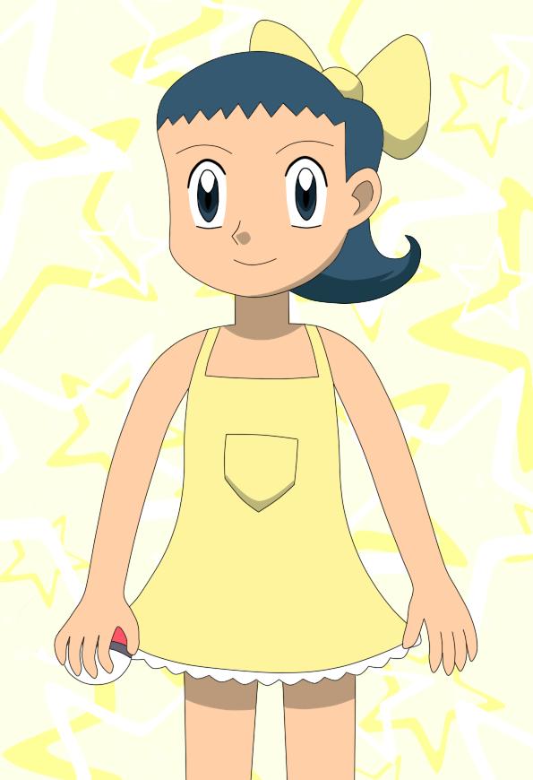 Lou louka 39 s lil 39 sis 39 by elothedreamgirl on deviantart - Louka pokemon ...