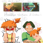 Misty reacts to AmourShipping kiss