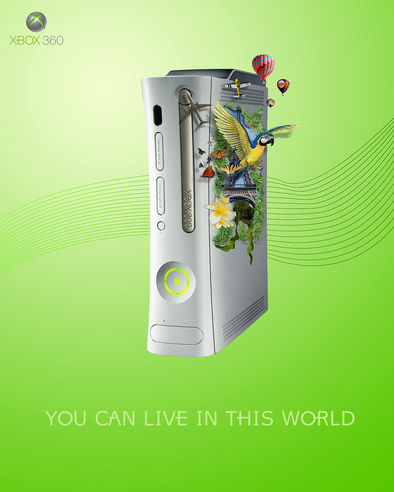XBOX 360 World by RygarX