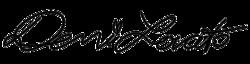 Demi Lovato signature png by Delenatika4ever